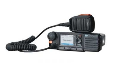 A radio as part of communications equipment in Palmerston North